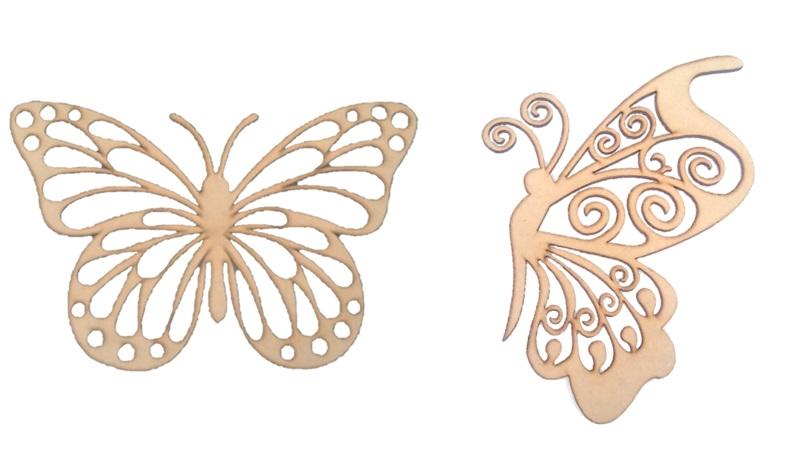 Mariposa calada 30 x 20 cm