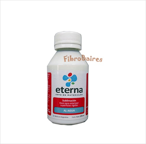 Base para Sublimar superficies rigidas al agua x 125ml  Eterna